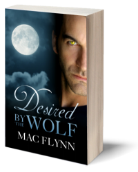 Book Cover: Desired By the Wolf Paperback