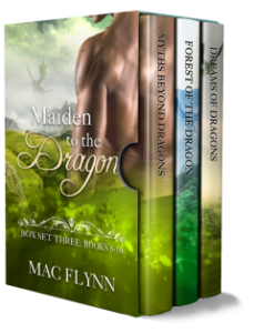 Book Cover: Maiden to the Dragon Box Set #3