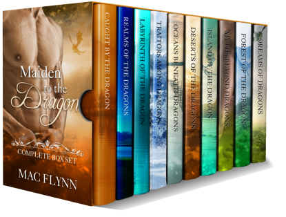 Book Cover: Maiden to the Dragon Complete Box Set